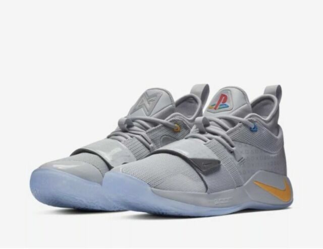 fb258b1d877 Nike PG 2.5 PlayStation Wolf Grey Basketball Shoe Size 10 for sale ...