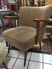 1 armlehnsessel sillón silla sillón cóctel club sillón vintage orginal 60er