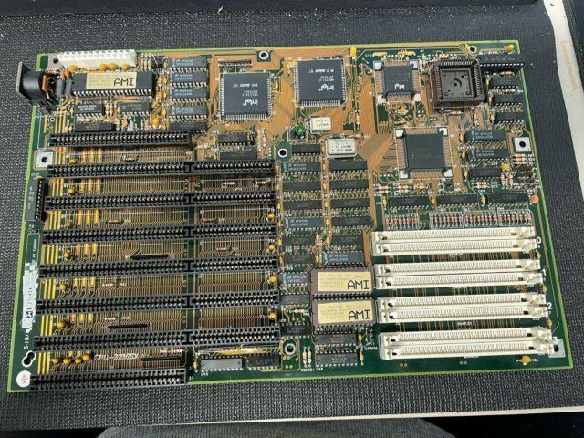 Vintage AMI 386 386SX ISA BIOS Motherboard