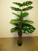 Artificial Plants - 4ft Large Artificial Cheese Plant Indoor Office House Plant