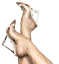 Cape-Robbin-Lemo-Transparent-Clear-Glass-Nude-Foot-Bed-Lucite-Wedge-Heel-Mule thumbnail 5