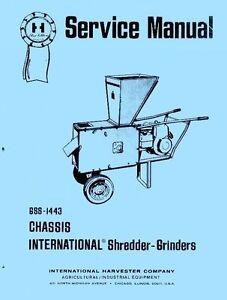 International-35-59-P-M-Shredder-Grinder-Service-Manual