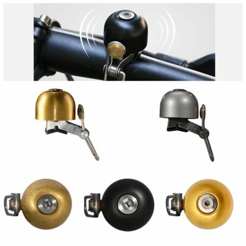 Cycling Bike Handlebar Ring Stainless Steel Safety Horn Classical Bell