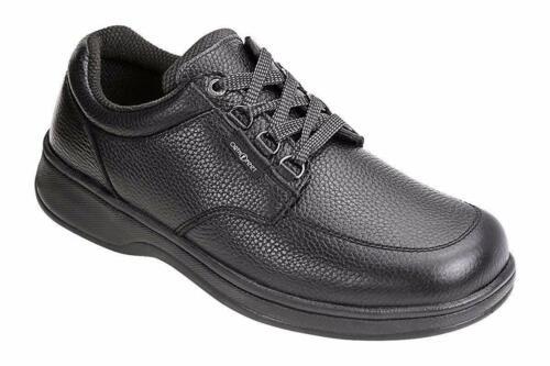 Orthofeet Avery Island Men/'s Black Walking Shoes NW//OB