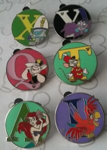 Alphabet-Hidden-Mickey-Series-III-Set-WDW-Choose-a-Walt-Disney-World-Pin