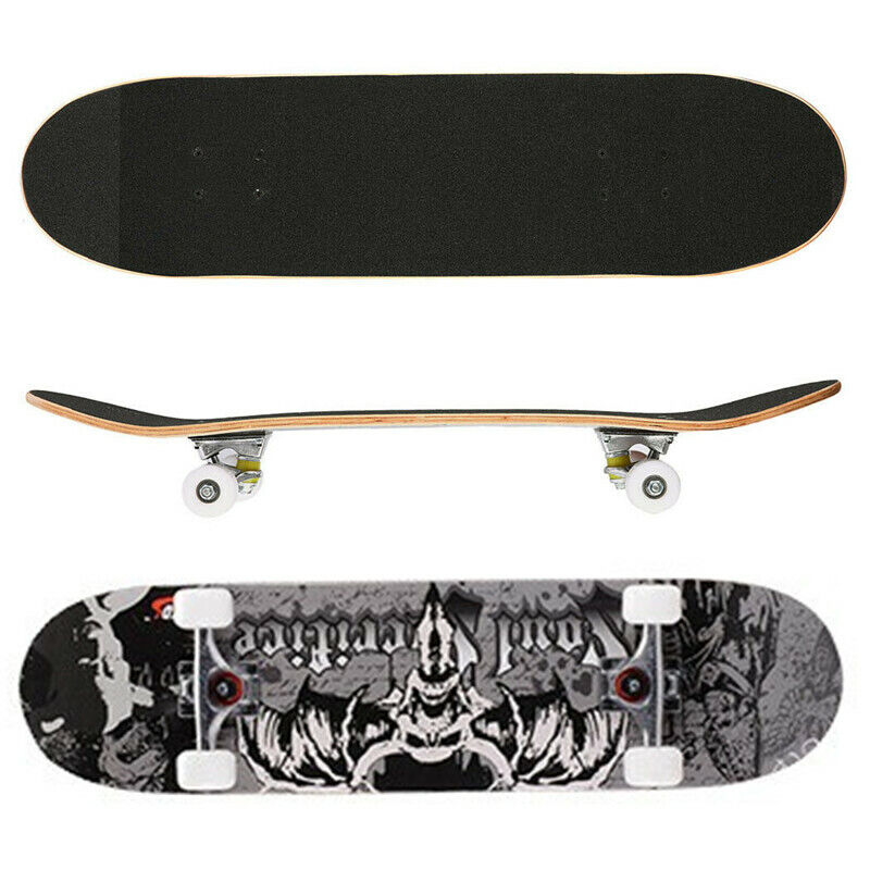Blank Skateboard Deck 8.0 8.25 Inch Natural Pro 7-ply Maple Wood Boards Medium Concave Double Kicks