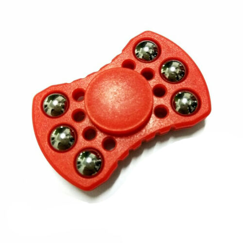 Slew time 4-5 minutes Black Fidget Toy Hand//Finger Spinner R188 SS Bearing