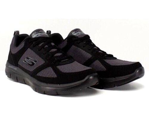 Advange Black Uk Nuevos Eur para Skechers 0 6 2 Flex hombre 5 39 Zapatillas qzwrB8zt