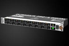 REVIVE AUDIO MODDED: BEHRINGER ADA8000, EIGHT CHANNEL AD/DA CONVERTER, LIGHTPIPE