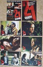 (Z068) Fotosatz + A1 Plakat Alejandro González Iñárritus 21 GRAMM - 2003