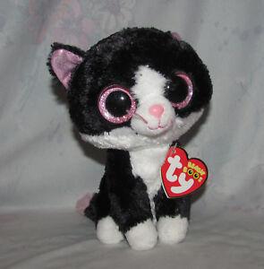 Ty Beanie Boo Black Cat Pepper 6