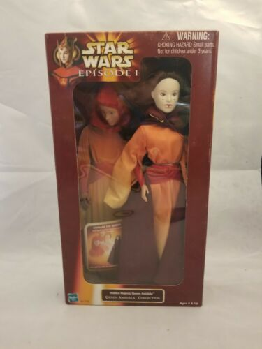 Hasbro Star Wars Episode 1 Hidden Majesty Queen Amidala collection doll 1998