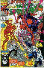 Web of Spiderman # 73 (Human Torch Co-Stars) (USA, 1991)