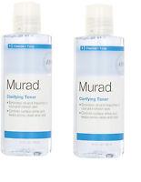 2- Murad Clarifying Toner Step 1 Cleanse/tone 6 Fl Oz X 2