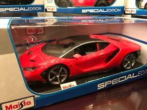 Maisto 1 18 Scale Special Edition Diecast Model Lamborghini