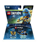 Lego Dimensions Fun Pack 71215 Ninjago Jay and Storm Fighter 3 in 1