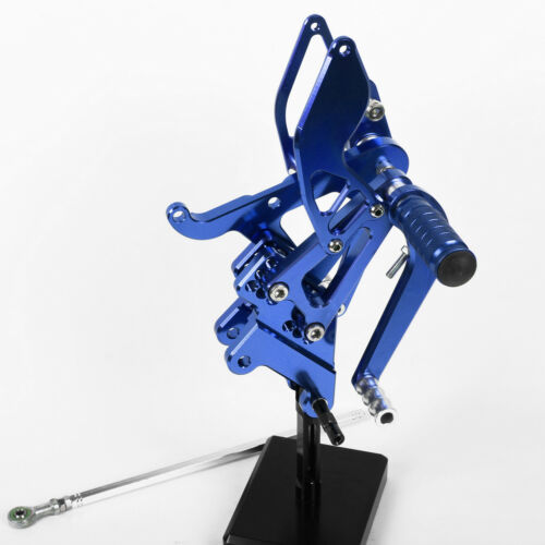 CNC For Yamaha YZF R6 1999 2000 2001 2002 Footpegs Footrests Rearsets Rear Set