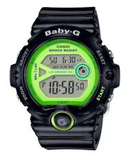New Casio BG6903-1B Baby-G Runners Jellies Black/Green Digital Ladies Watch