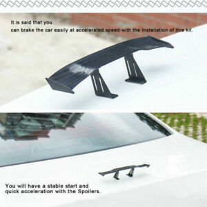 Mini-Car-Small-NO-Perforation-Tail-Wing-Spoiler-Decoration-Stickers-Universal