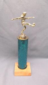 silver female  BASKETBALL trophy teal star  backdrop black /& silver column