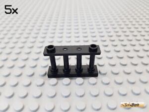 30055 Lego Fence Spindled 1x4x2 Bright Grey x4
