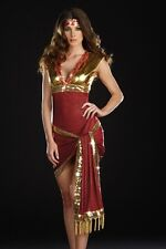 DREAMGIRL NEW Womens Bolly Ho Red Halloween Party Belly Dancer Costume X LARGE