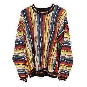 Vintage-Protege-Bill-Cosby-Biggie-90s-Hip-Hop-Rap-3d-ugly-sweater-Erwachsene-XL-Herren-selten