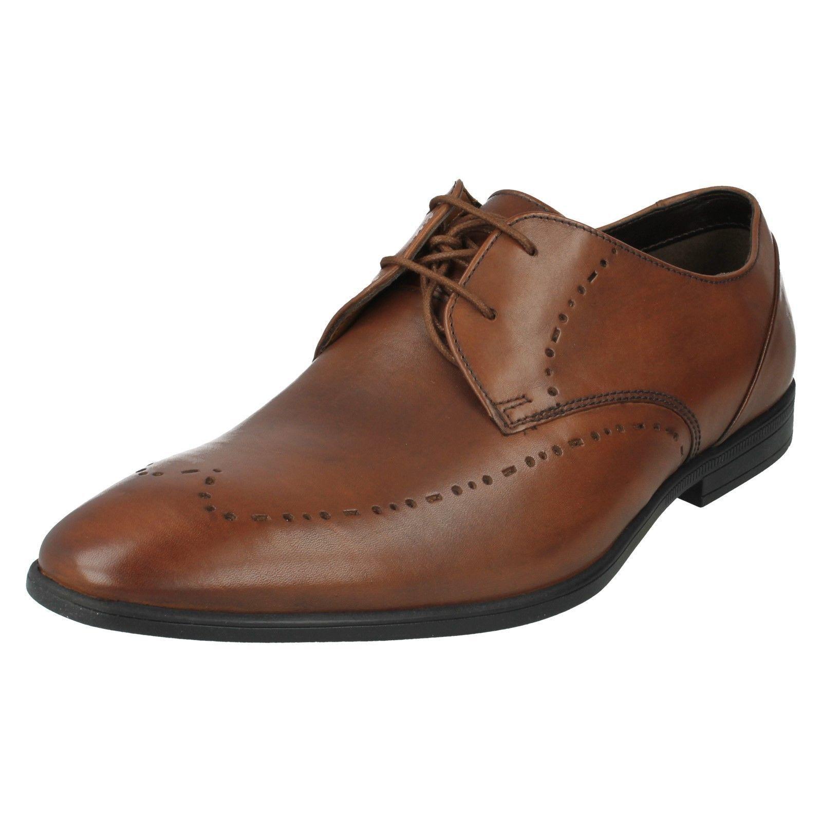 Hombre Clarks Zapatos Bampton Limite