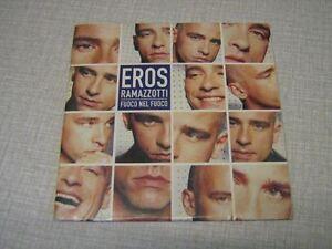 Image Is Loading Eros Ramazzotti Cd Single Fuoco Nel Fuoco