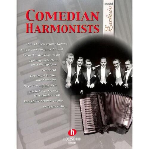 Comedian Harmonists Noten für Akkordeon 1784-9783864340284