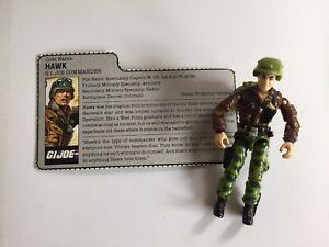 Vintage-1986-G-I-Joe-ARAH-034-Hawk-034-Commander-action-figure-ARAH