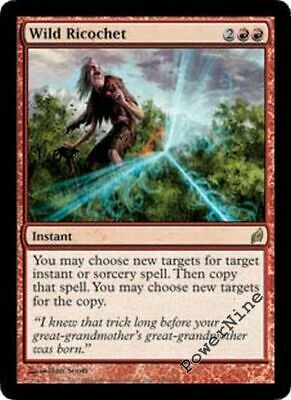 4 Wild Ricochet = Red Lorwyn Mtg Magic Rare 4x x4