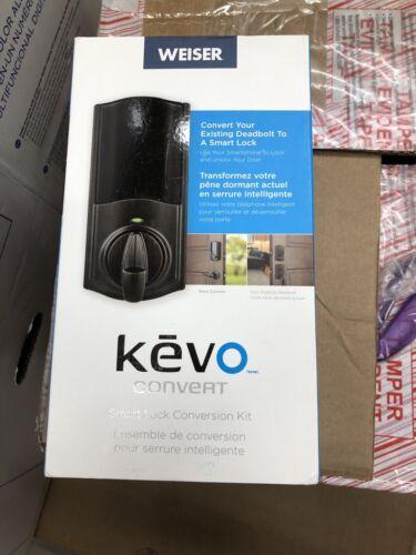 Open Box Weiser Kevo Venetian Bronze Keyless Entry Deadbolt Conversion Kit