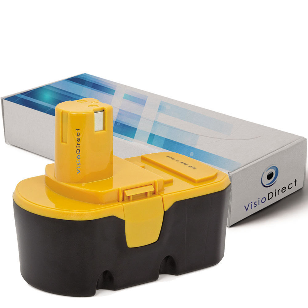 Batterie 18V 3000mAh pour Ryobi CDC181M CDD182L CDI1801 CDI1802 CDI1802M CDI1803