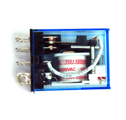 2pc LY2 Power Relay 951-2C-110AN DPDT 10A250V Coil= 110VAC Hsin Da = OMRON LY2NJ