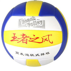 Great Student Volleyball Faux Leather Match Training Ball Thickened Size 5 SN
