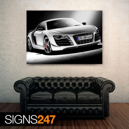 AUDI R8 GT Photo Picture Poster Print Art A0 A1 A2 A3 A4 0441 Car Poster