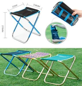 Astonishing Details About Folding Chairs Outdoor Mini Portable Camping Fishing Picnic Small Stool Seat Us Machost Co Dining Chair Design Ideas Machostcouk