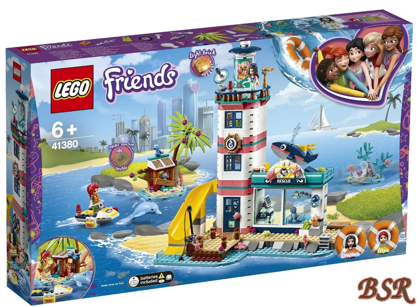 Lego Amigos  41380 Faro con Luz de Inundación & Envío & Nuevo & Emb.orig