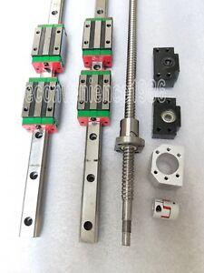 HGR25-700mm-Hiwin-Linear-rail-amp-HGH25CA-amp-RM2505-700mm-Ballscrew-amp-BF20-BK20-Kit