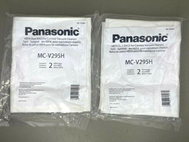 Panasonic MC-V295H Type C-19 Canister HEPA Vacuum Bag 4 Pack