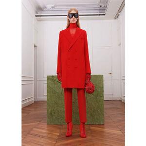 New Fashion 2 Piece Set Women Trouser Suit Blazer Double Breasted