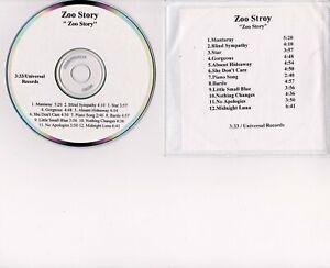 Zoo-Story-Self-Titled-CD-Rare-PROMO