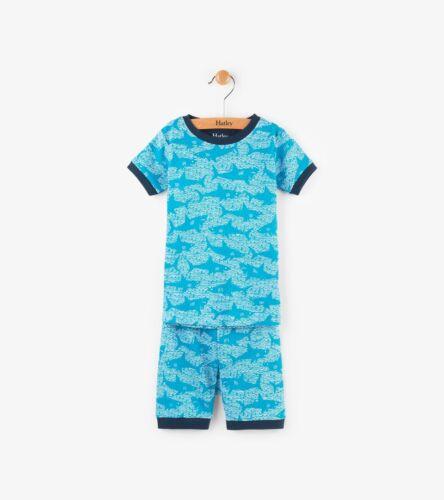 New SS18 Hatley Shark Alley Short Pyjama Pajamas PJ 5 6 7 8 12