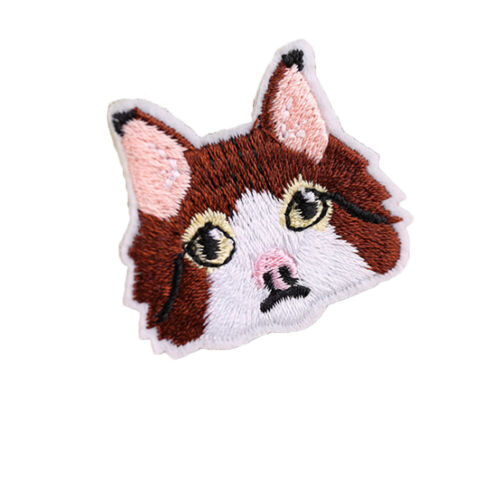 3D Animals Embroidery Pasted On Clothes Bag Patches Patching Hole Sewing Decor