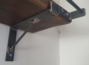 2x-All-Sizes-Rustic-Hand-Made-Shelf-Brackets-scaffold-Board-brackets