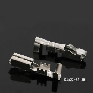 Details about DJ623-E2 8B Tin Plated Brass Female Crimping Terminals For  Electronic Wiring