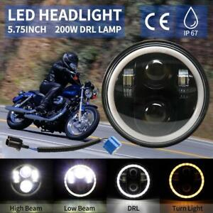 5-75-034-5-3-4-034-Phare-Halo-DRL-DEL-Eye-Lumiere-Pour-Harley-Davidson-Dyna-Sportster