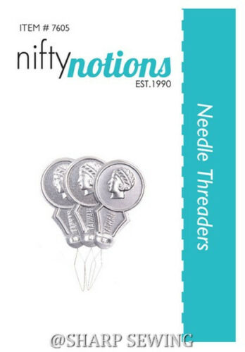 NIFTY NOTIONS #7605 NEEDLE THREADER 3 PER PACKAGE