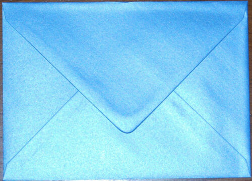 """95GSM Pearlescent Envelopes Choice of Colour /& Qty 5/"""" x 7/"""" 133mm x 184mm"""